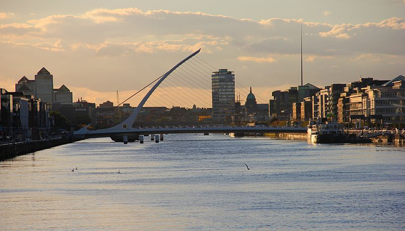 River Liffey, Dublin (Photo credit: Wikimedia Commons)