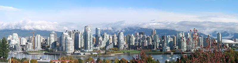Vancouver Skyline (Photo credit: Wikimedia Commons)
