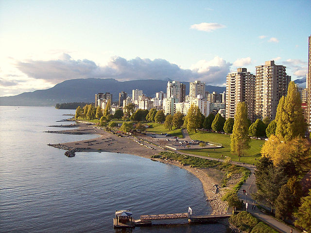 English Bay (Photo credit: Wikimedia Commons)