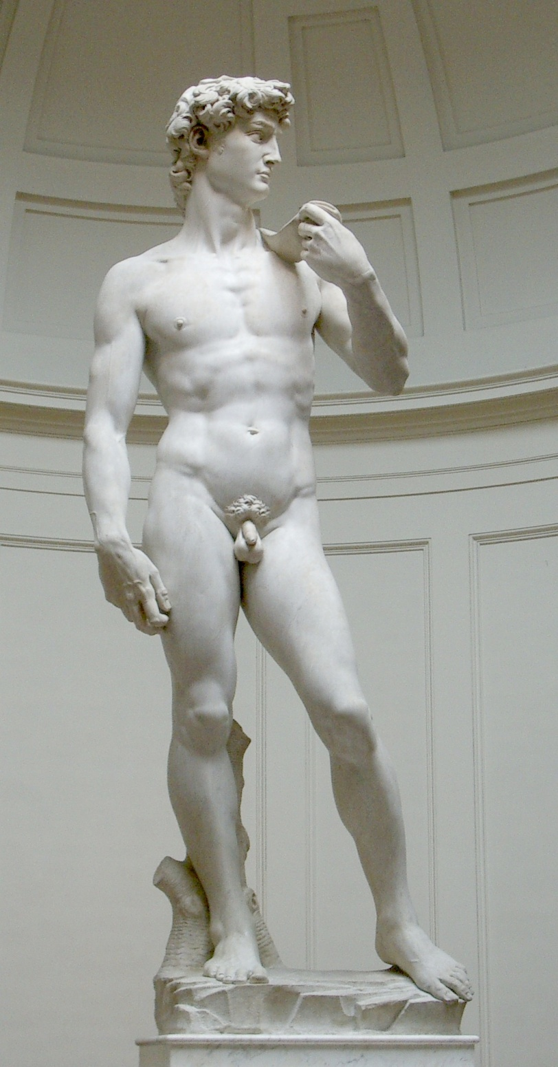 Michelangelo's Statue of David (Photo source: Wikimedia Commons)