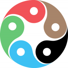 Symbol for the five elements of Feng Shui