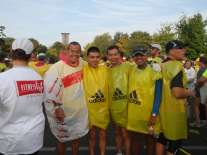 Berlin 2008 with Singapore runners