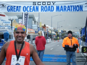 Great Ocean Road Marathon 2009