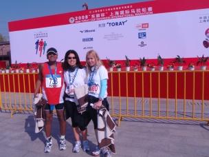 Shanghai 2008 with Annie & Irene