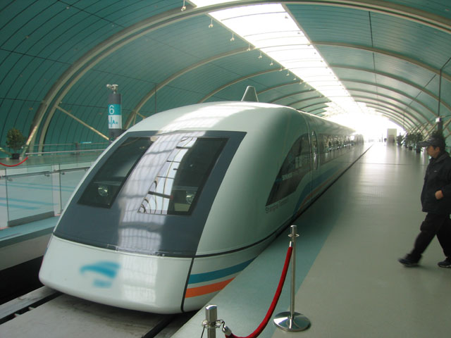 Shanghai Transrapid (Photo credit: Wikimedia Commons)