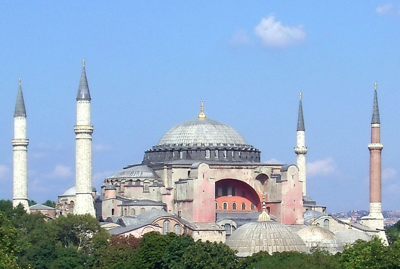Haghia Sophia (Photo credit: Wikimedia Commons)