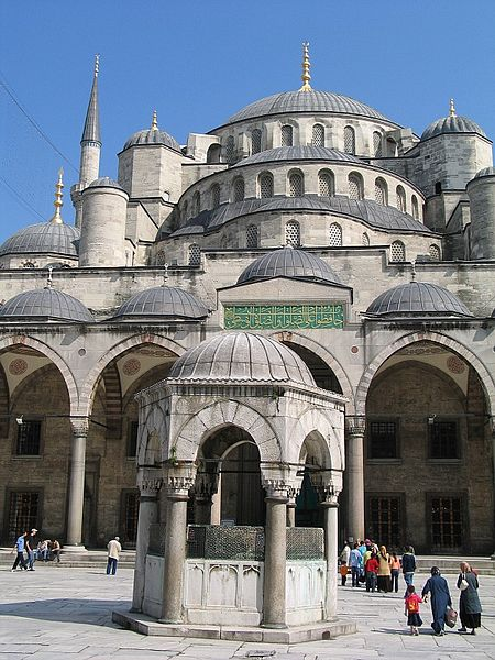 Blue Mosque (Photo credit: Wikimedia Commons)