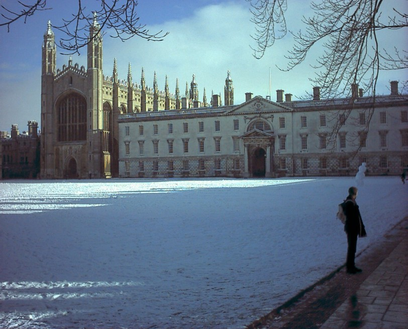 Kings College, Cambridge (Photo credit: Wikimedia Commons)