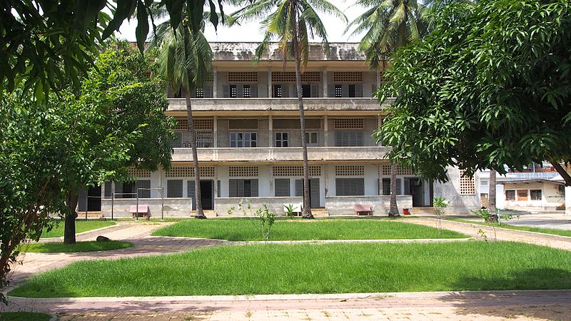 Tuol Sleng Genocide Museum (Photo credit: Wikimedia Commons)