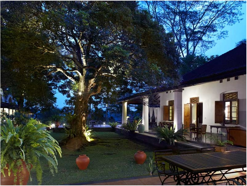 View of one of the villas (Photo credit: Hotel website)