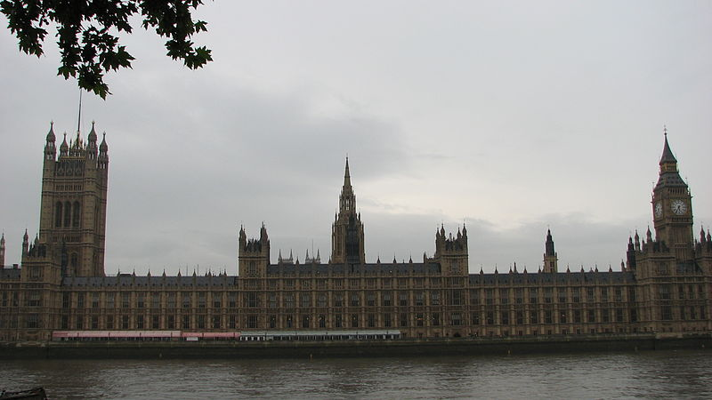 House of Parliament, London (Photo Credit: Wikimedia Commons)
