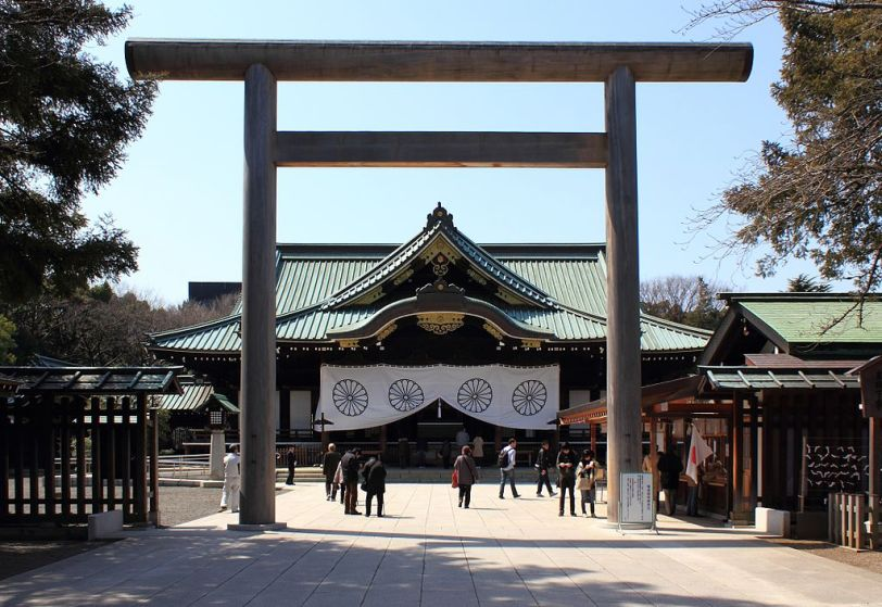Yasukuni Shrine, Japan (Photo credit: Wikimedia Commons)