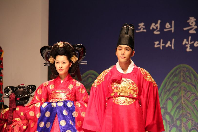 Re-enactment of Korean royal wedding (Photo credit: Wikimedia Commons)