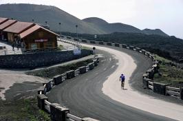 #6 Cyclist on Mount Etna