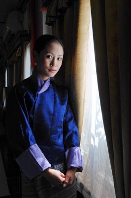 #17 Young Lady of Bhutan