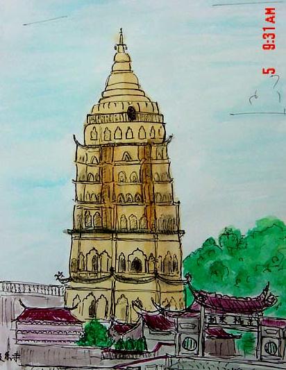 Ayer Itam Temple Penang (亚依淡庙 槟城), 2001