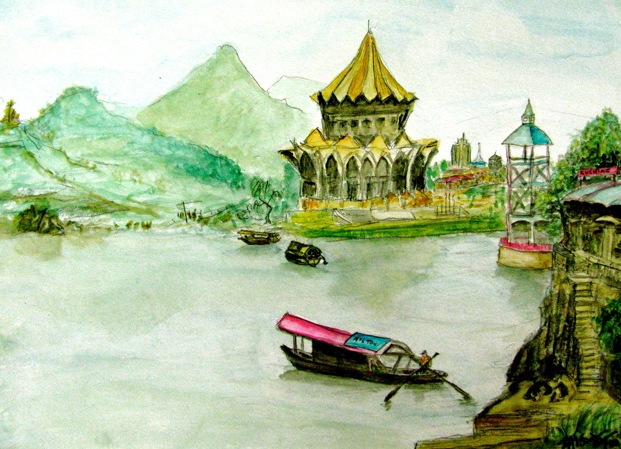Sarawak River Kuching (砂拉越古晋河), 2010