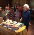 Dr Oon Chiew Seng celebrating her 100th birthday