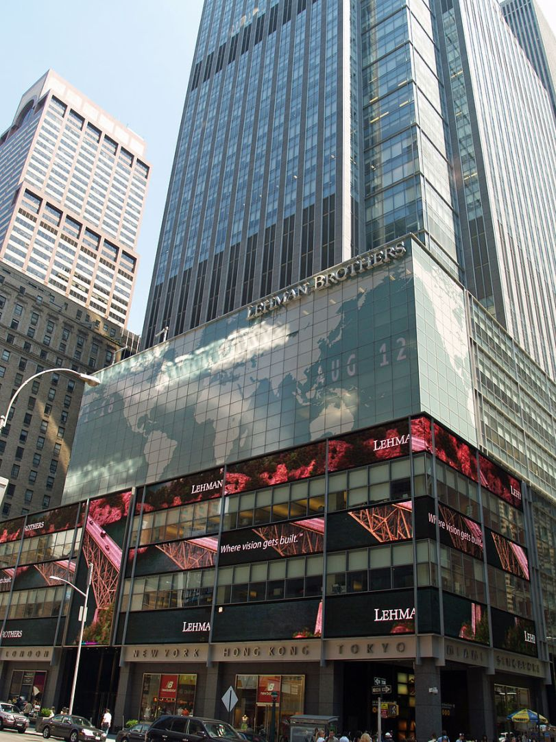Lehman Brothers, New York (Photo credit: Wikimedia Commons)