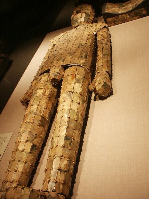 A jade burial suit from the Chinese Han Dynasty (Photo credit: Wikimedia Commons)