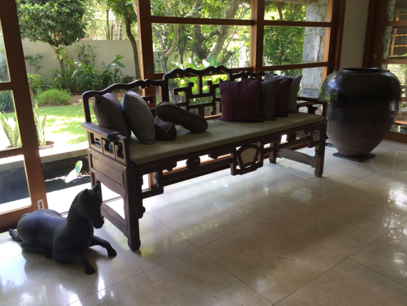 Photo 3 – Qing Bench – First Purchase - Blackwood