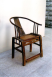 Photo 7 – Single Back Rail Armchair - Walnut